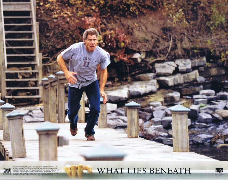WHAT LIES BENEATH Lobby Card 4 Harrison Ford Michelle Pfeiffer Diana Scarwid