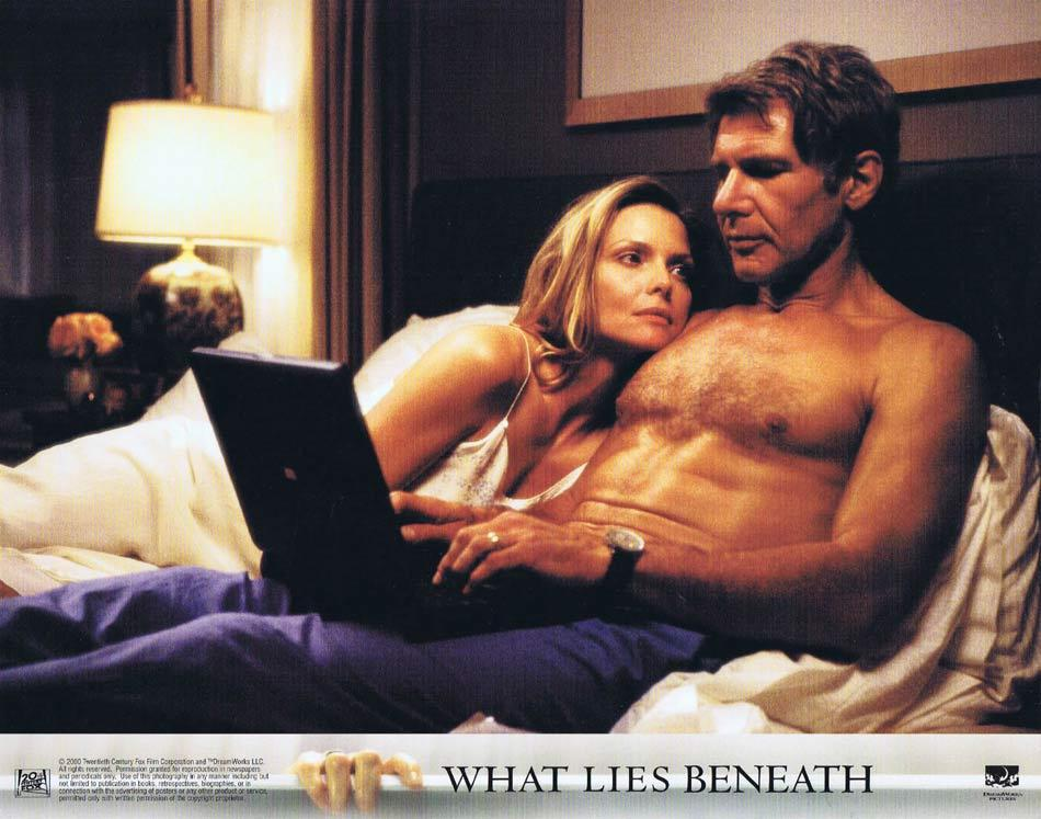 WHAT LIES BENEATH Lobby Card 5 Harrison Ford Michelle Pfeiffer Diana Scarwid