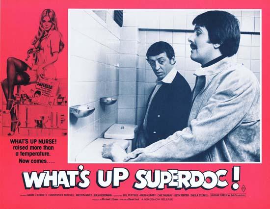 "WHAT""S UP SUPERDOC Lobby Card 5 Derek Ford Sexploitation"