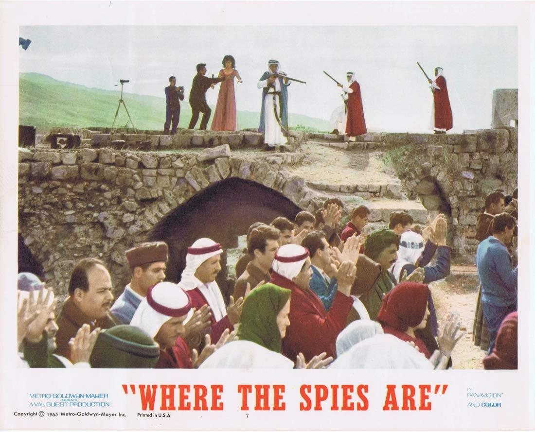 WHERE THE SPIES ARE Lobby Card 6 David Niven Françoise Dorléac John Le Mesurier