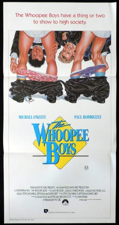 THE WHOOPEE BOYS Daybill Movie poster Denholm Elliott