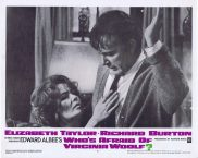 WHO'S AFRAID OF VIRGINIA WOOLF Original Lobby Card 4 Elizabeth Taylor Richard Burton