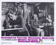 WHO'S AFRAID OF VIRGINIA WOOLF Original Lobby Card 5 Elizabeth Taylor Richard Burton