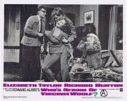WHO'S AFRAID OF VIRGINIA WOOLF Original Lobby Card 6 Elizabeth Taylor Richard Burton