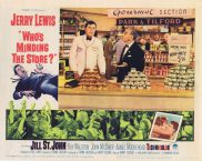 WHO'S MINDING THE STORE Lobby Card 1 Jerry Lewis