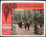 WILD ANGELS, The '66-Peer Fonda-Nancy Sinatra BIKER ORIGINAL US Lobby card #7