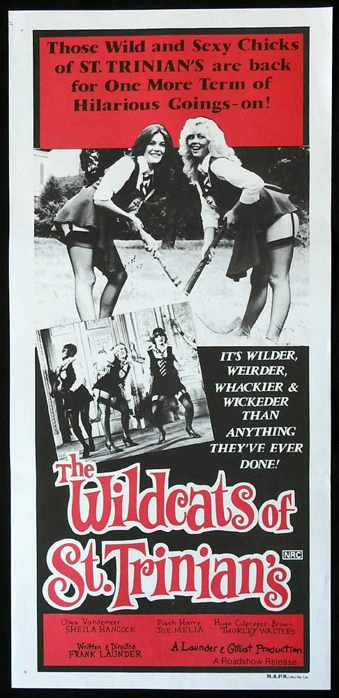 WILDCATS OF ST TRINIANS Original Daybill Movie Poster Sheila Hancock Michael Hordern