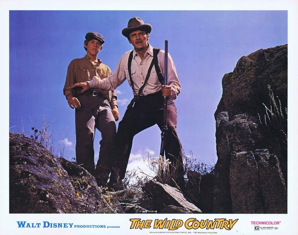 THE WILD COUNTRY Lobby Card 2 Steve Forrest Vera Miles