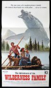 ADVENTURES OF THE WILDERNESS FAMILY Daybill Movie poster Robert Logan