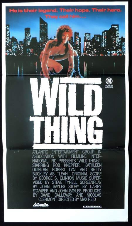 WILD THING Original Daybill Movie Poster Robert Knepper