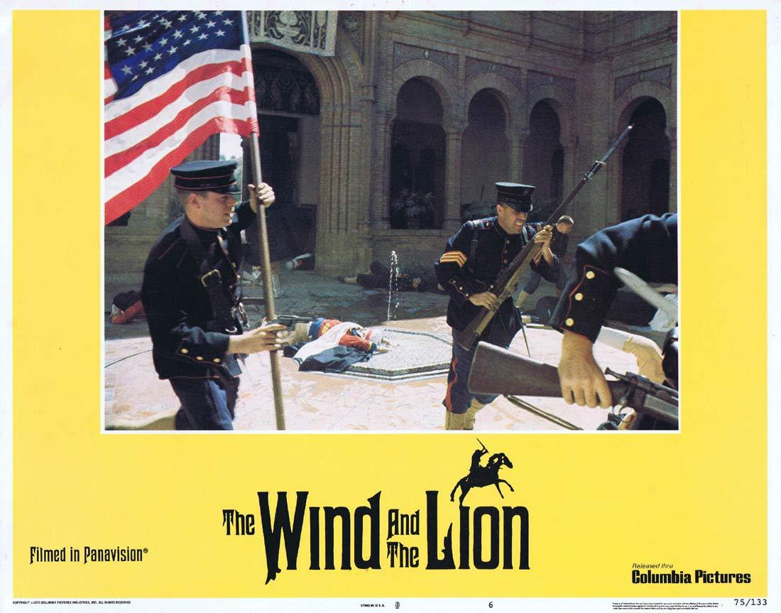 THE WIND AND THE LION Original Lobby Card 6 Sean Connery Candice Bergen