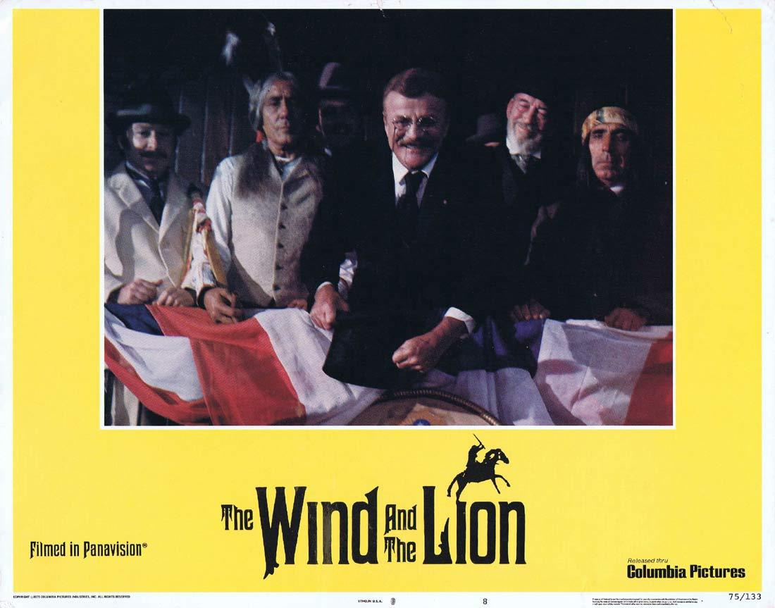 THE WIND AND THE LION Original Lobby Card 8 Sean Connery Candice Bergen