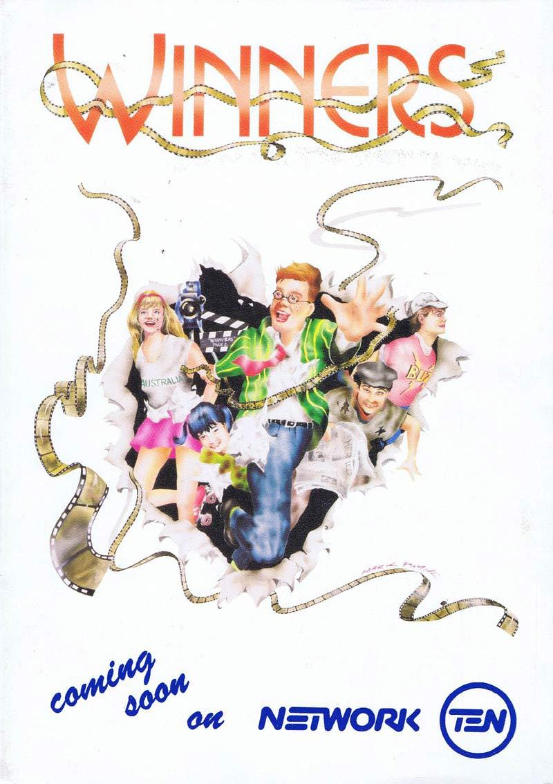 WINNERS Original Movie Press Booklet Nicole Kidman Terry Donovan John Duigan