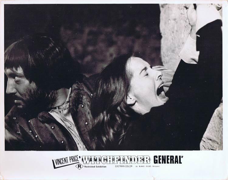 WITCHFINDER GENERAL Lobby card 1 Vincent Price