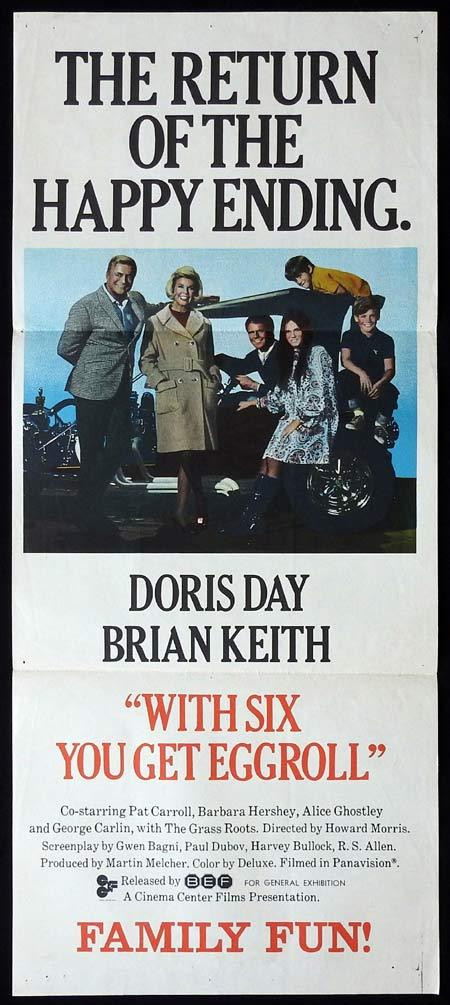 With Six You Get Eggroll, Howard Morris, Doris Day, Brian Keith, Pat Carroll, Barbara Hershey
