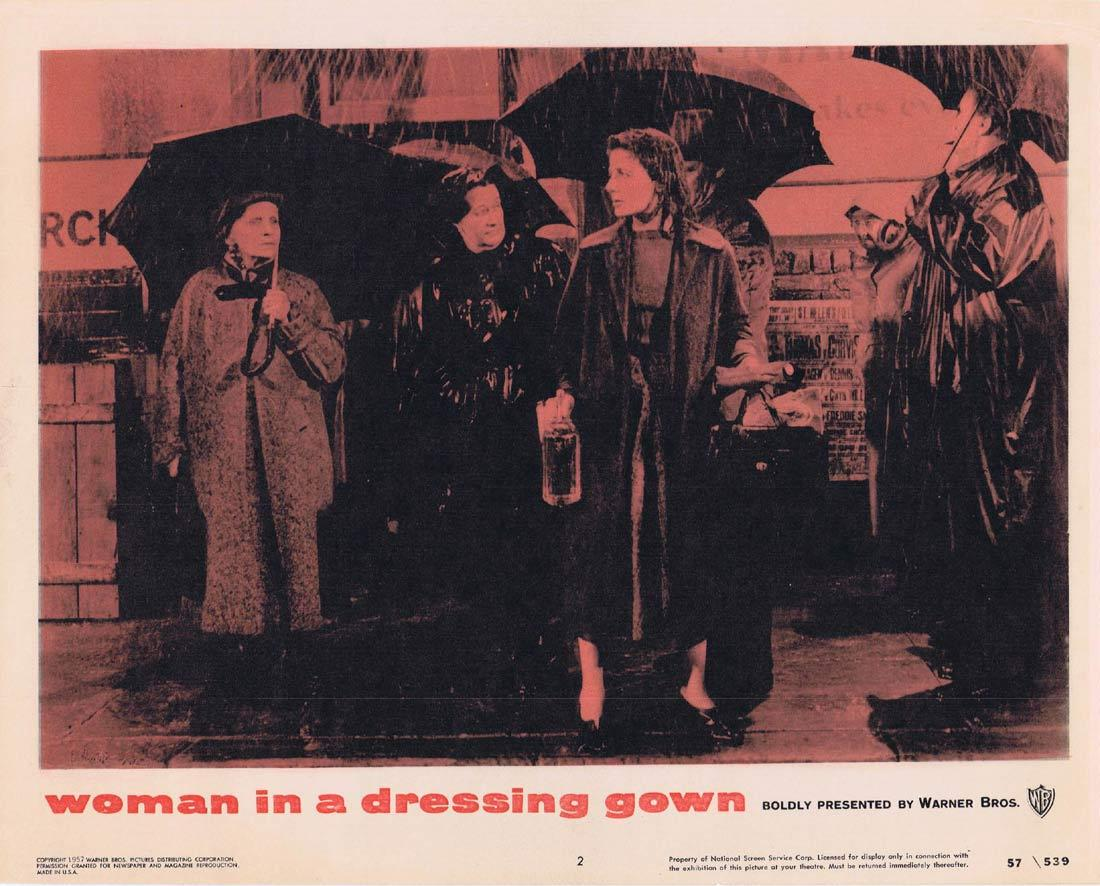 WOMAN IN A DRESSING GOWN Lobby Card 2 Yvonne Mitchell Anthony Quayle Sylvia Syms