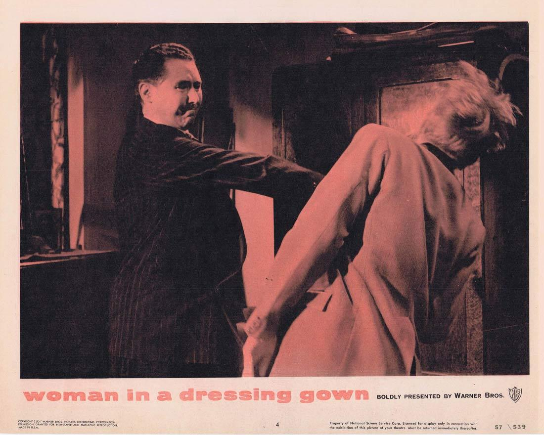 WOMAN IN A DRESSING GOWN Lobby Card 4 Yvonne Mitchell Anthony Quayle Sylvia Syms