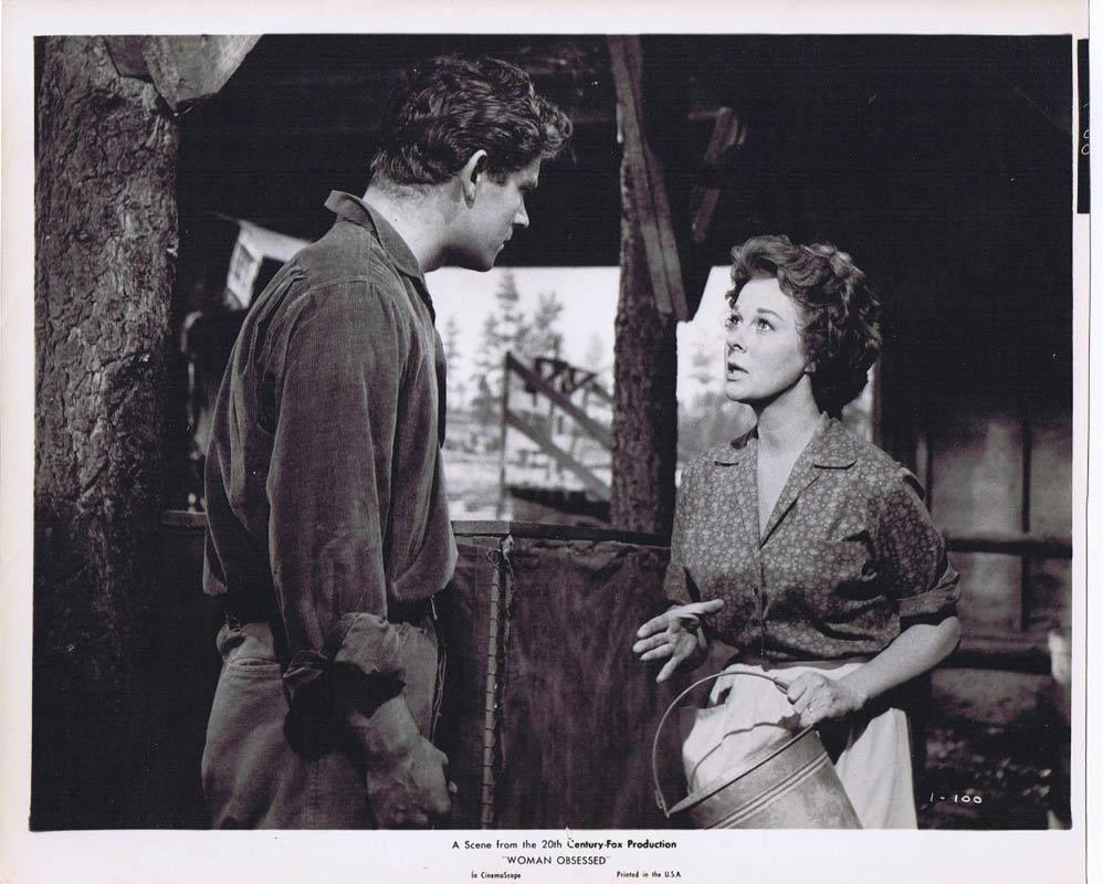 WOMAN OBSESSED Vintage Movie Still 10 Susan Hayward Stephen Boyd
