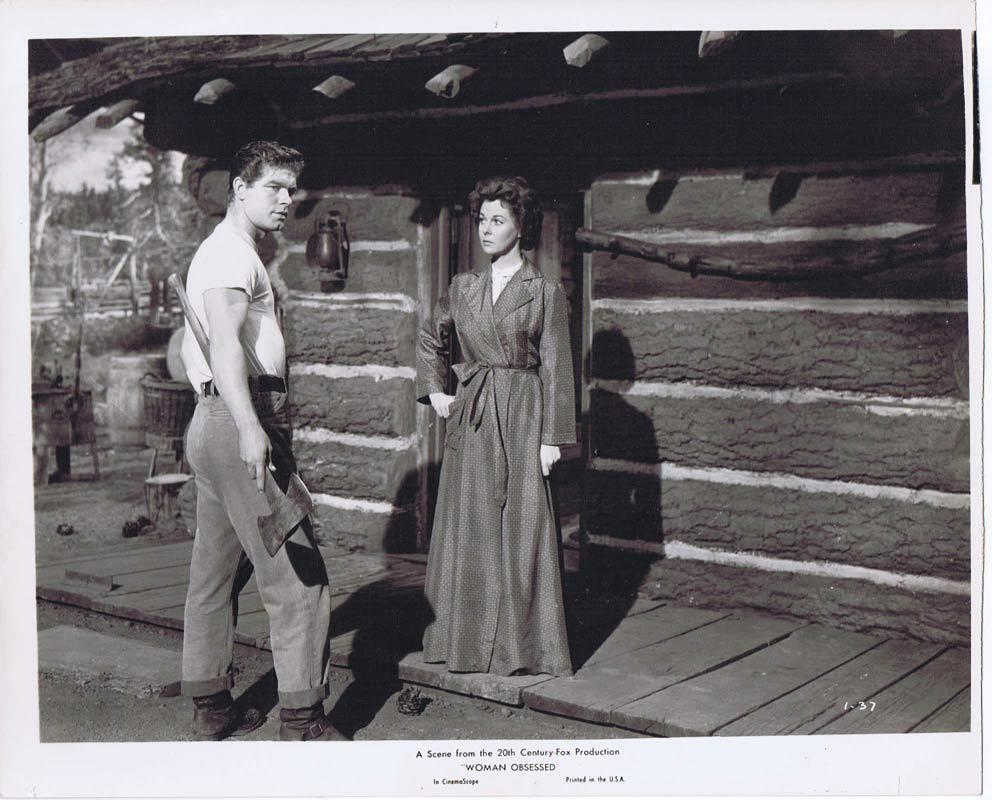 WOMAN OBSESSED Vintage Movie Still 11 Susan Hayward Stephen Boyd