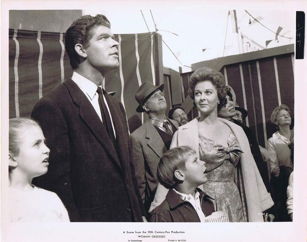 WOMAN OBSESSED Vintage Movie Still 12 Susan Hayward Stephen Boyd