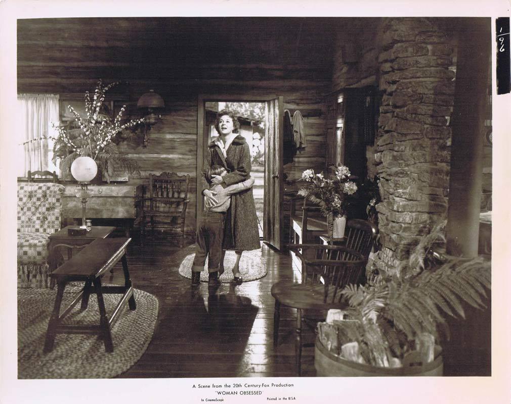 WOMAN OBSESSED Vintage Movie Still 19 Susan Hayward Stephen Boyd