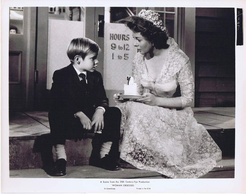 WOMAN OBSESSED Vintage Movie Still 24 Susan Hayward Stephen Boyd