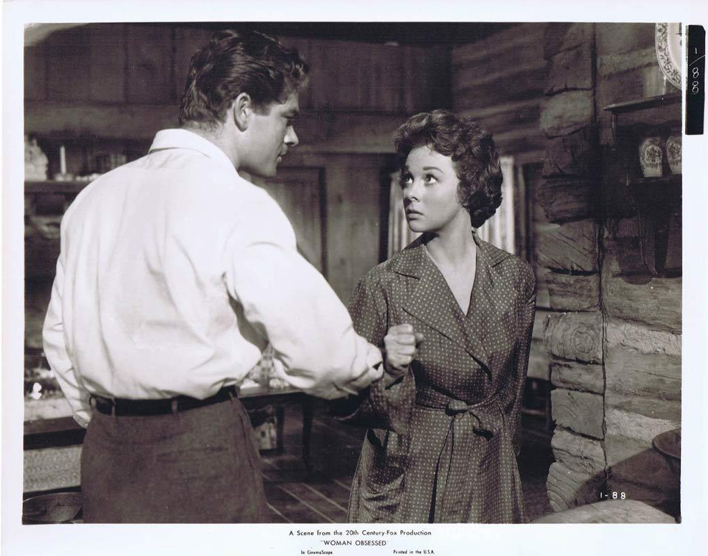 WOMAN OBSESSED Vintage Movie Still 27 Susan Hayward Stephen Boyd