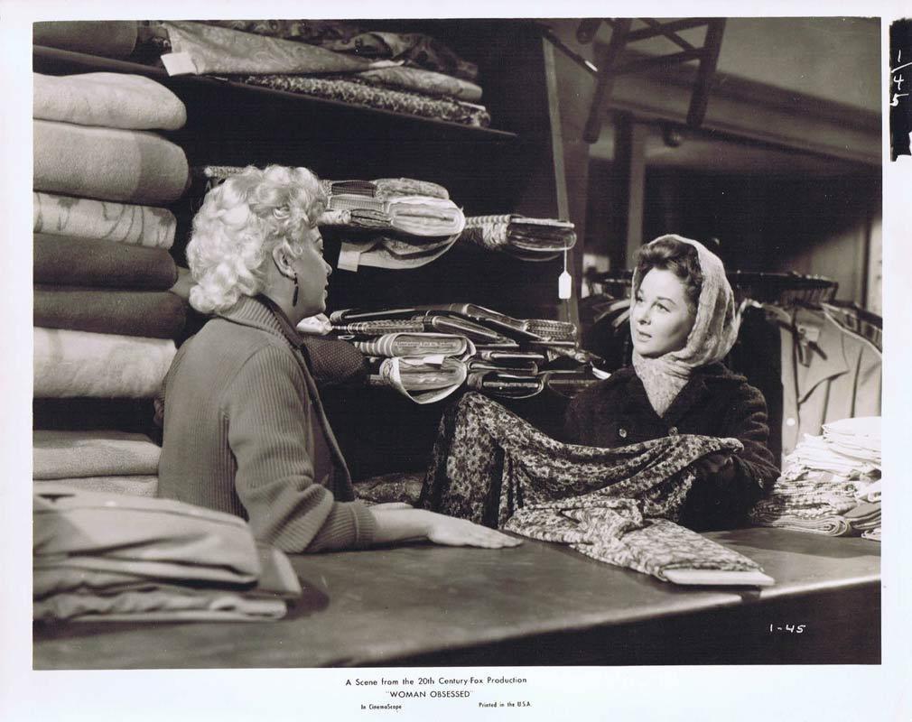 WOMAN OBSESSED Vintage Movie Still 31 Susan Hayward Stephen Boyd