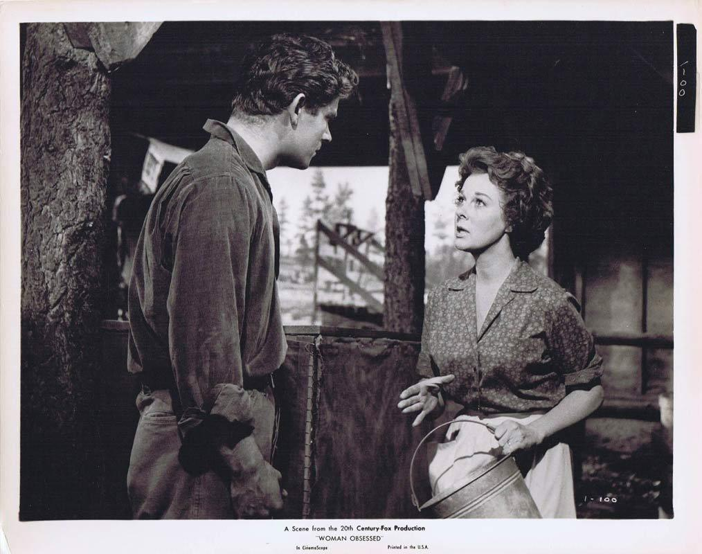 WOMAN OBSESSED Vintage Movie Still 36 Susan Hayward Stephen Boyd