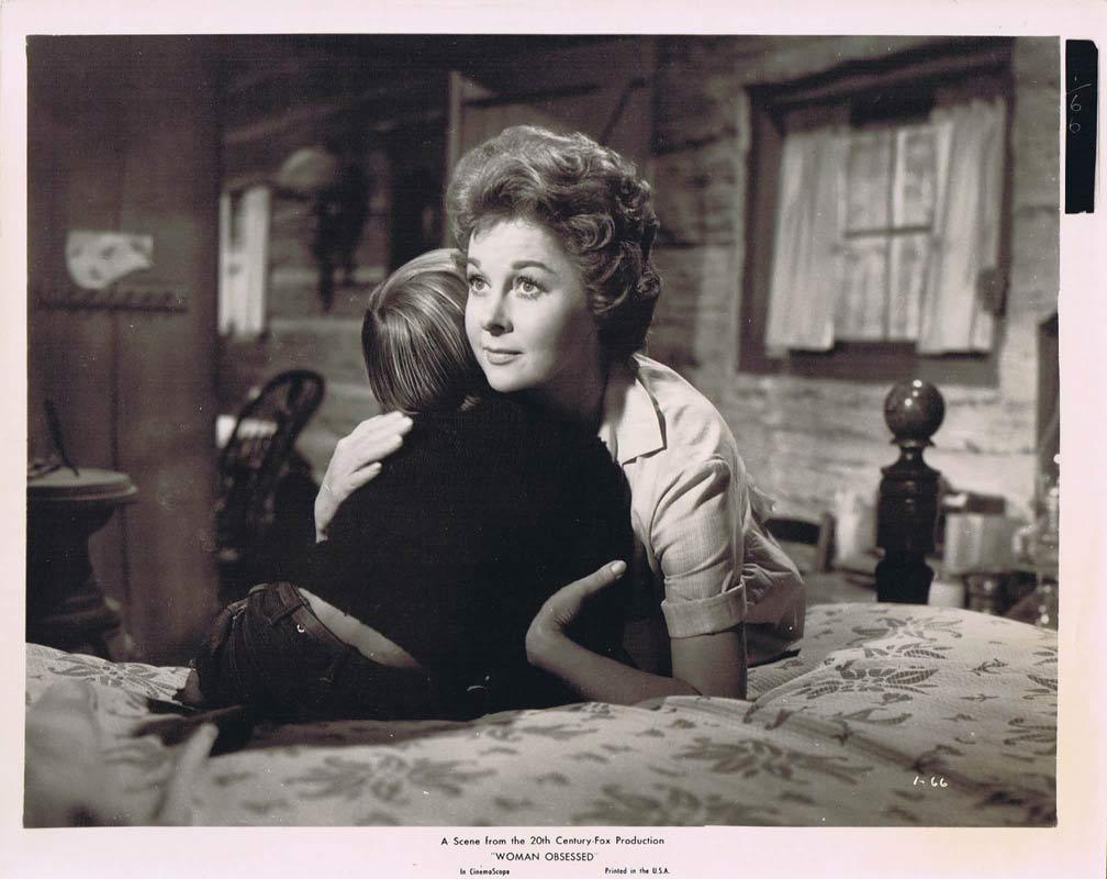 WOMAN OBSESSED Vintage Movie Still 4 Susan Hayward Stephen Boyd