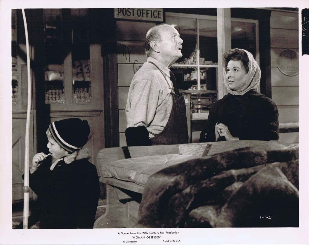 WOMAN OBSESSED Vintage Movie Still 44 Susan Hayward Stephen Boyd
