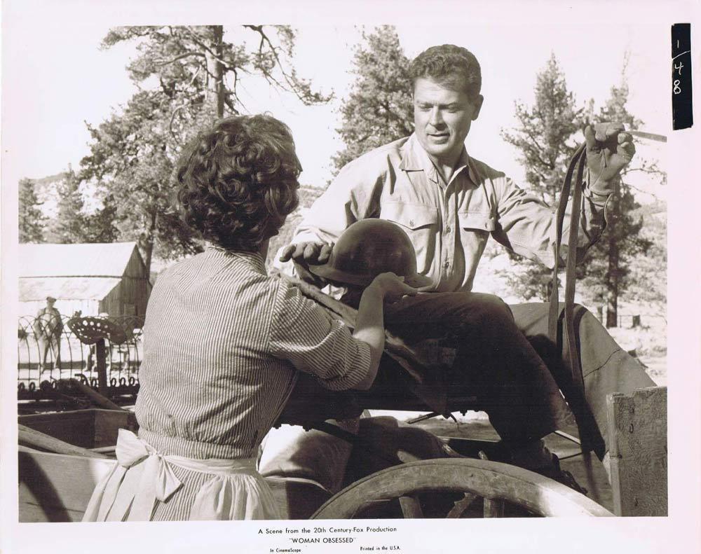 WOMAN OBSESSED Vintage Movie Still 60 Susan Hayward Stephen Boyd