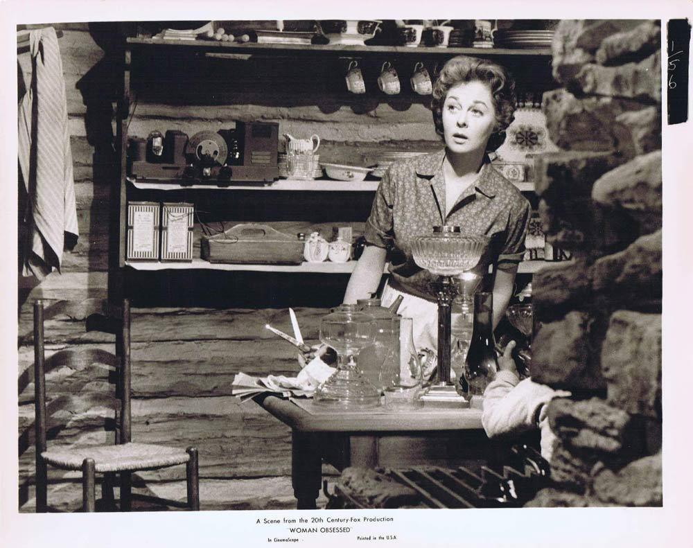 WOMAN OBSESSED Vintage Movie Still 61 Susan Hayward Stephen Boyd
