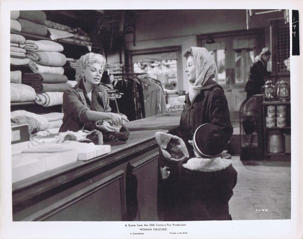 WOMAN OBSESSED Vintage Movie Still 8 Susan Hayward Stephen Boyd