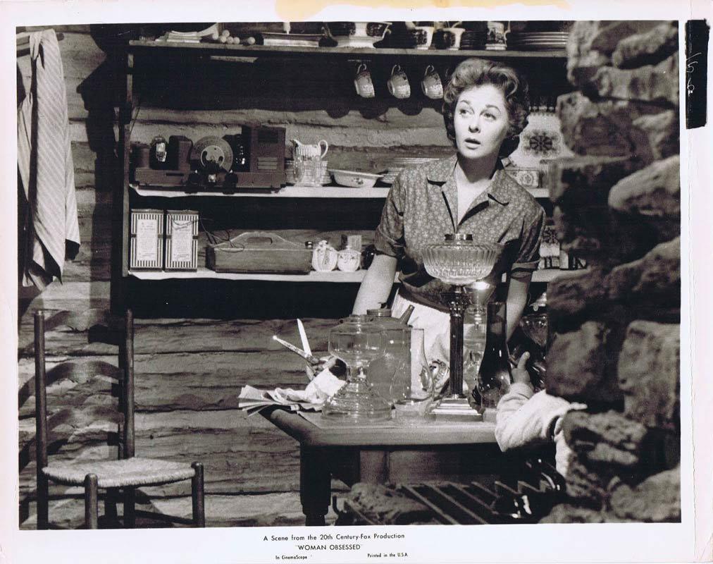WOMAN OBSESSED Vintage Movie Still 9 Susan Hayward Stephen Boyd