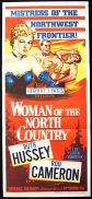 WOMAN OF THE NORTH COUNTRY Original Daybill Movie Poster Ruth Hussey Rod Cameron Western