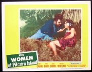 WOMEN OF PITCAIRN ISLAND '56-James Craig ORIGINAL US Lobby card #4