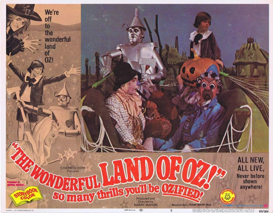 THE WONDERFUL LAND OF OZ Lobby Card 8
