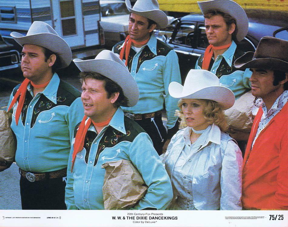 WW & THE DIXIE DANCEKINGS Lobby Card 3 Burt Reynolds Conny Van Dyke Ned Beatty