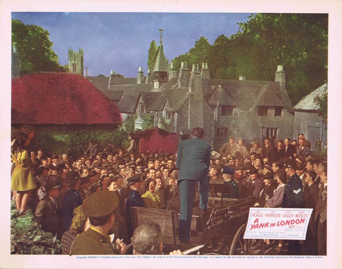 A YANK IN LONDON Original Lobby Card 2 Anna Neagle Rex Harrison 1945