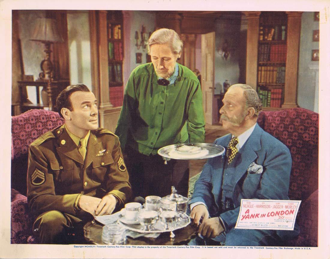 A YANK IN LONDON Original Lobby Card 5 Anna Neagle Rex Harrison 1945