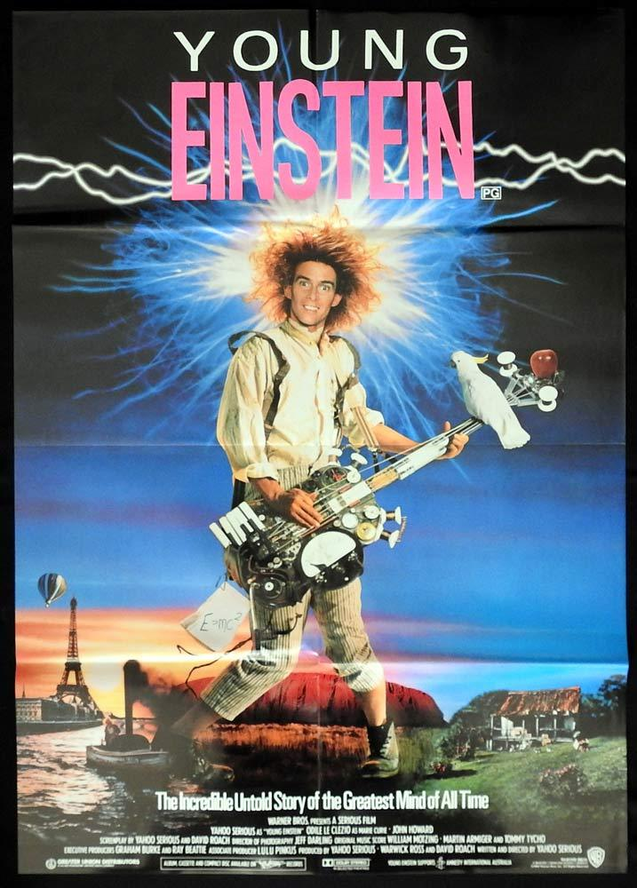 YOUNG EINSTEIN Australian One sheet Movie poster Yahoo Serious