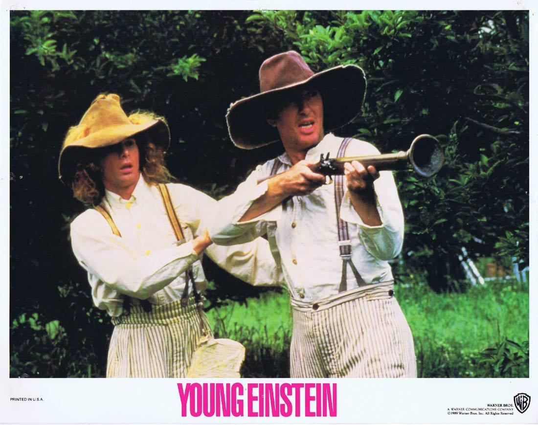 YOUNG EINSTEIN Original Lobby Card 2 YAHOO SERIOUS Albert Einstein