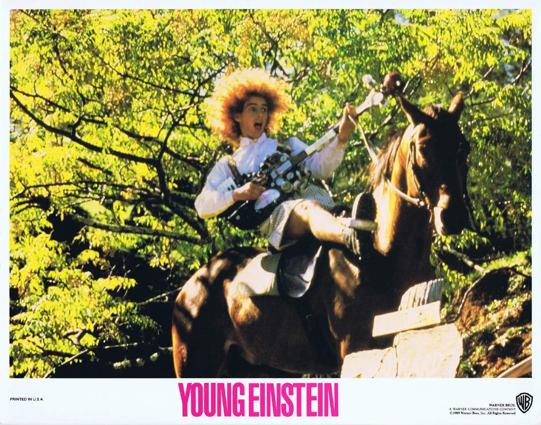 YOUNG EINSTEIN Original Lobby Card 4 YAHOO SERIOUS Albert Einstein