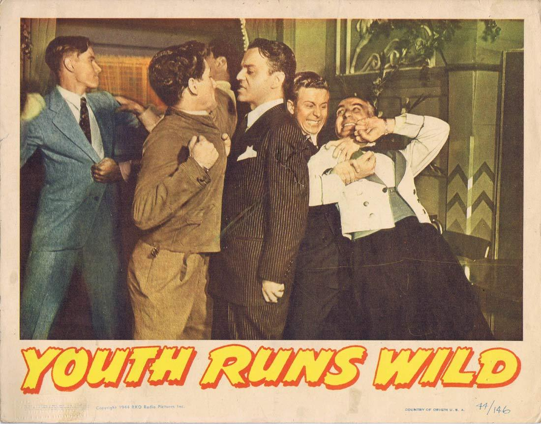 YOUTH RUNS WILD Lobby Card Bonita Granville Kent Smith