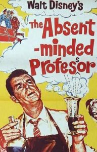 THE ABSENT MINDED PROFESSOR Daybill Movie Poster Original or Reissue? image