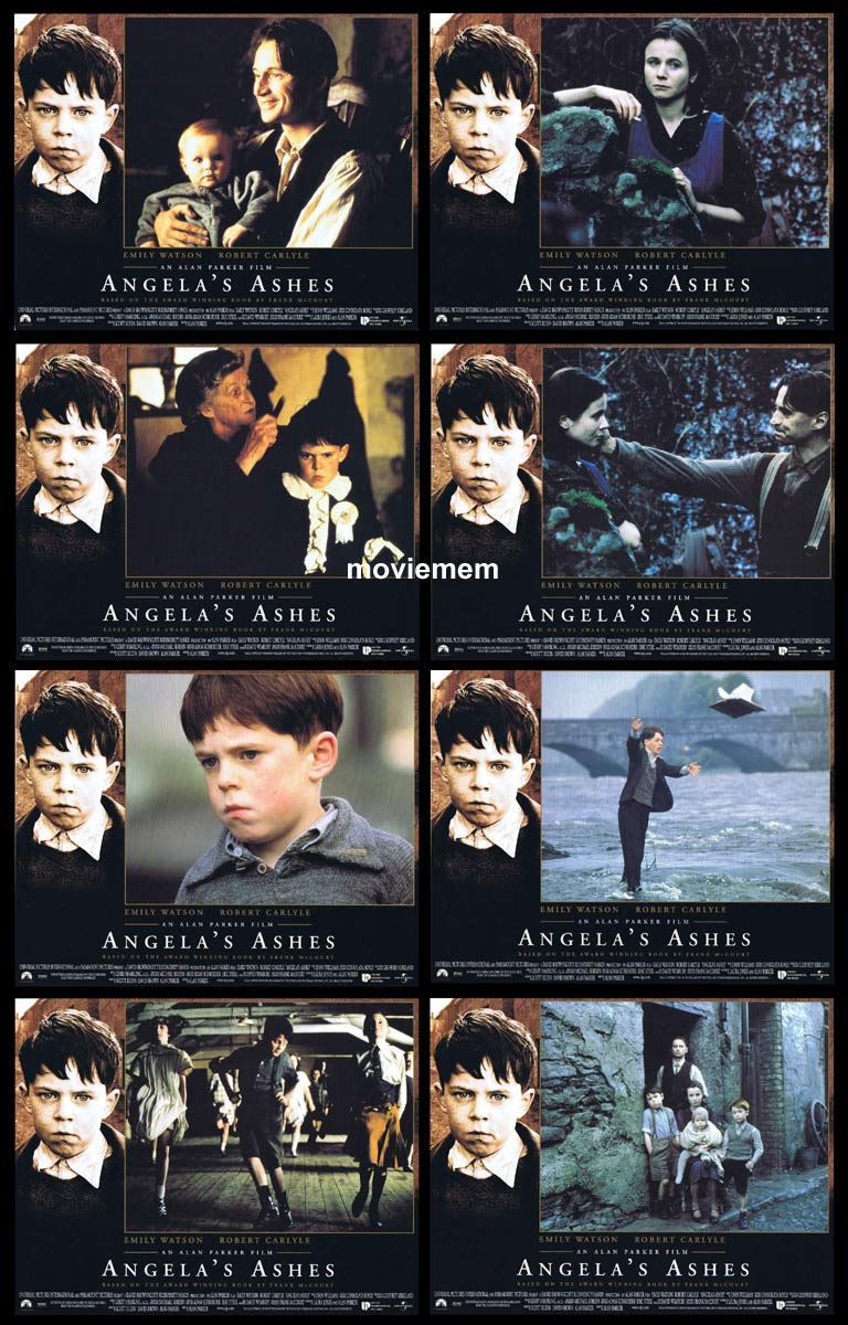 ANGELA'S ASHES Original Lobby Card Set Emily Watson Robert Carlyle