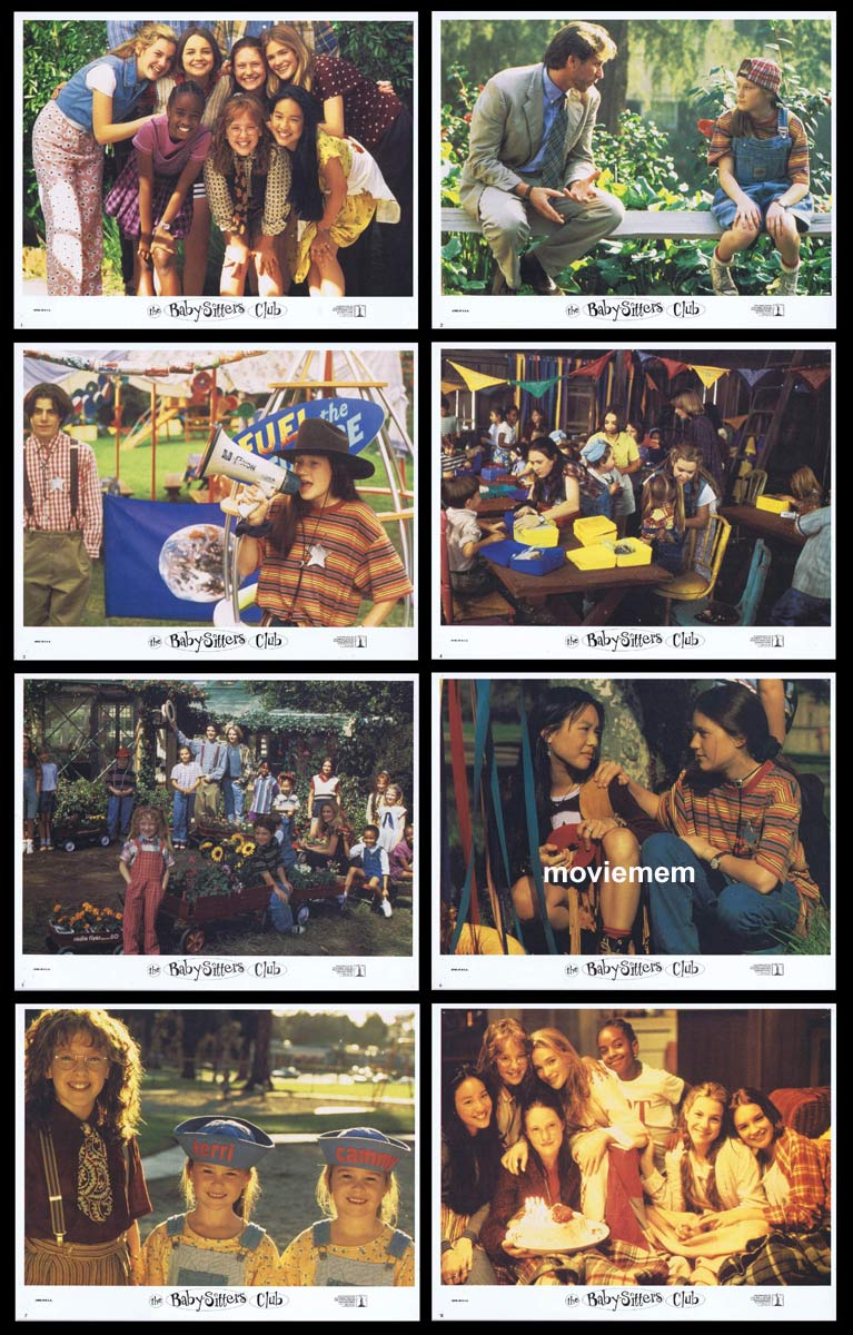 THE BABYSITTERS CLUB Original Lobby Card Set  Sophie Grace Momona Tamada Shay Rudolph