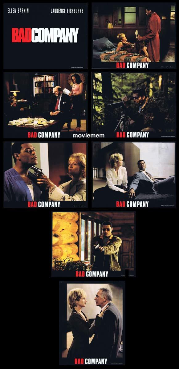 BAD COMPANY Original Lobby Card Set Anthony Hopkins Chris Rock Peter Stormare