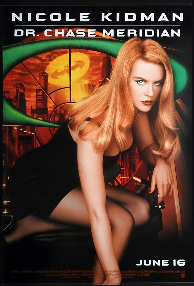 BATMAN FOREVER Original Rolled DS US One sheet Movie poster Nicole Kidman